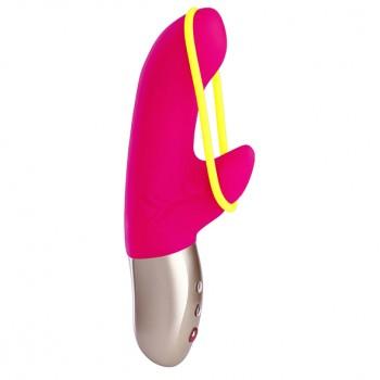 Fun Factory - Amorino Mini Vibrator Pink & Neon Yellow