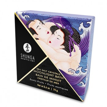 Shunga - Oriental Crystals Bath Salts Single Use Exotic Fruits 75