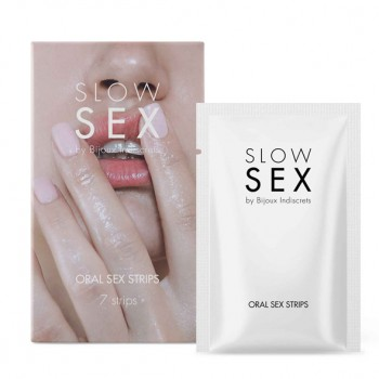 Bijoux Indiscrets - Slow Sex Oral Sex Strips
