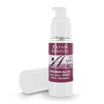 Extase Sensuel sildošā masāžas eļļa (30 ml) - Extase Sensuel - Feromon Hot Oil Blackberry 30 ml