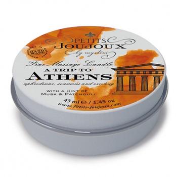 Petits Joujoux - Massage Candle Athens 33 gram