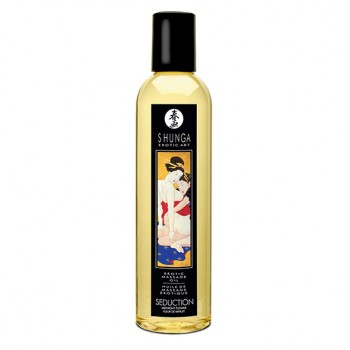Shunga - Massage Oil Seduction Midnight Flower