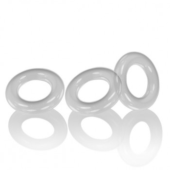 Oxballs - Willy Rings 3-pack Cockrings Clear