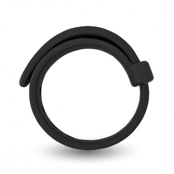 Velv'Or - Rooster Jason Size Adjustable Firm Strap Design Cock Ring Black