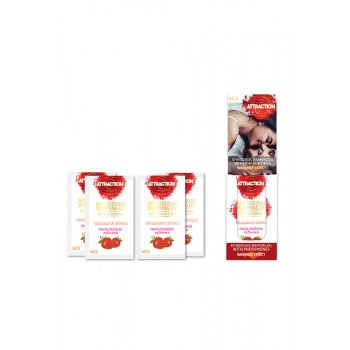 MAI MASSAGE OIL SACHETS STRAWBERRY 18X
