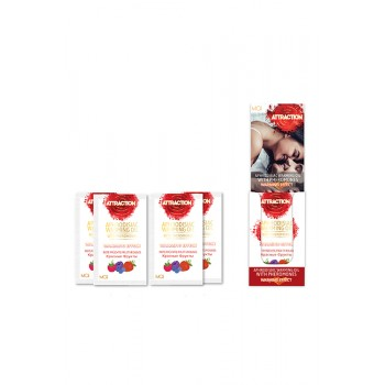 MAI MASSAGE OIL SACHETS RED FRUITS 18X