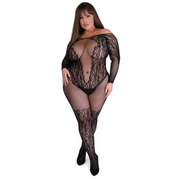 Fifty Shades of Grey - Captivate Spanking Bodystocking Curve