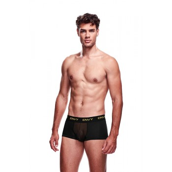 ENVY MESH SHORT BOXER BLACK, S/M