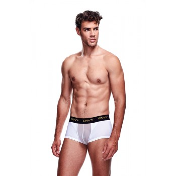 ENVY MESH SHORT BOXER WHITE, S/M