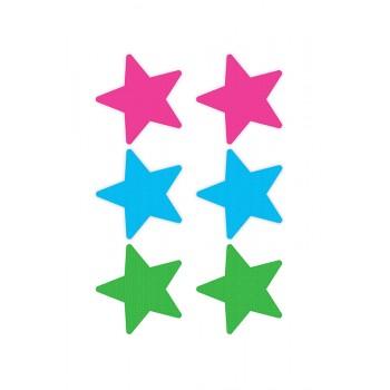 PEEKABOO PASTIES NEON STAR