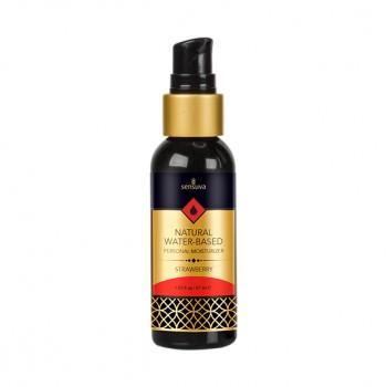 Sensuva - Natural Water-Based Personal Moisturizer Strawberry 57 ml
