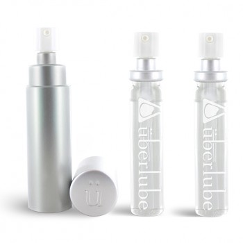 Uberlube - Silicone Lubricant Good-To-Go & Refills Silver