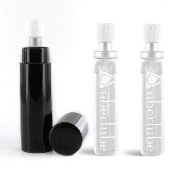 Uberlube - Silicone Lubricant Good-To-Go & Refills Black