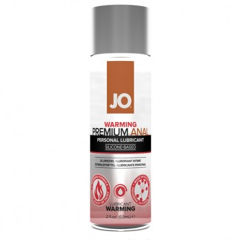 System JO - Premium Anal Silicone Lubricant Warming 60 ml