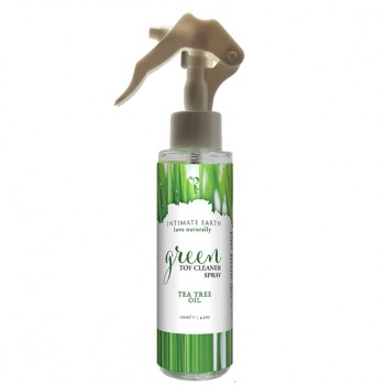 Intimate Earth Green sprejs seksa rotaļlietu tīrīšanai (125 ml) - Intimate Earth - Green Tea Toycleaner Spray 125 ml