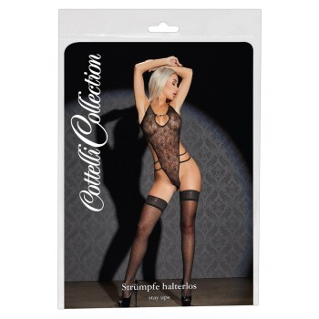 Hold-up Stockings Dots 4