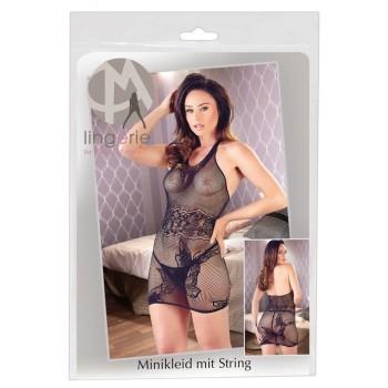 Net Mini Dress S-L