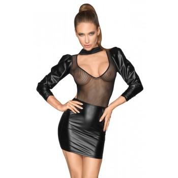 Noir Dress Sleeves L