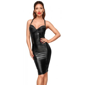 Noir Dress matte L