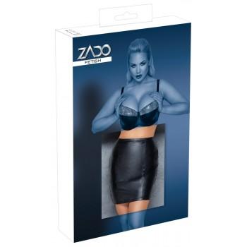 Leather Mini Skirt XL