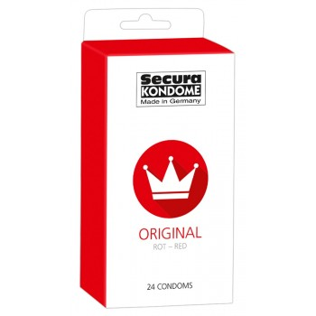 Secura Red 24 pcs.