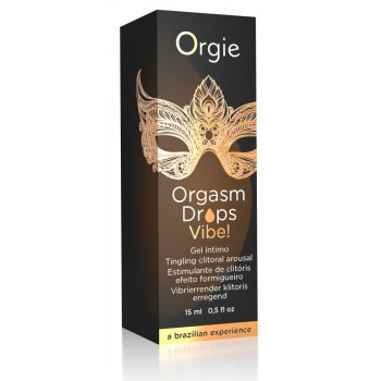 Orgie Orgasm Drops Vibe! 15 ml