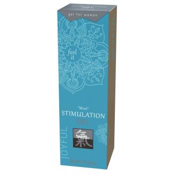 Stimulējošs klitora gels Shiatsu Mint 30ml