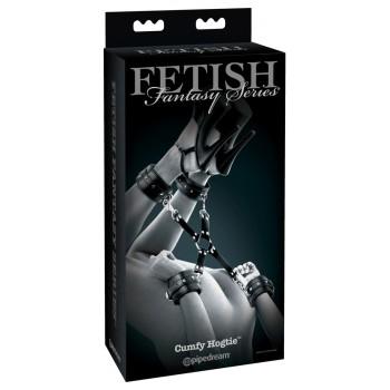 X veida roku un kāju dzelži Fetish Fantasy Series Limited Edition