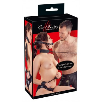 Bad Kitty Restraint Set 7 pcs