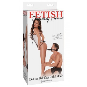 FFS Deluxe Ball Gag with Dildo