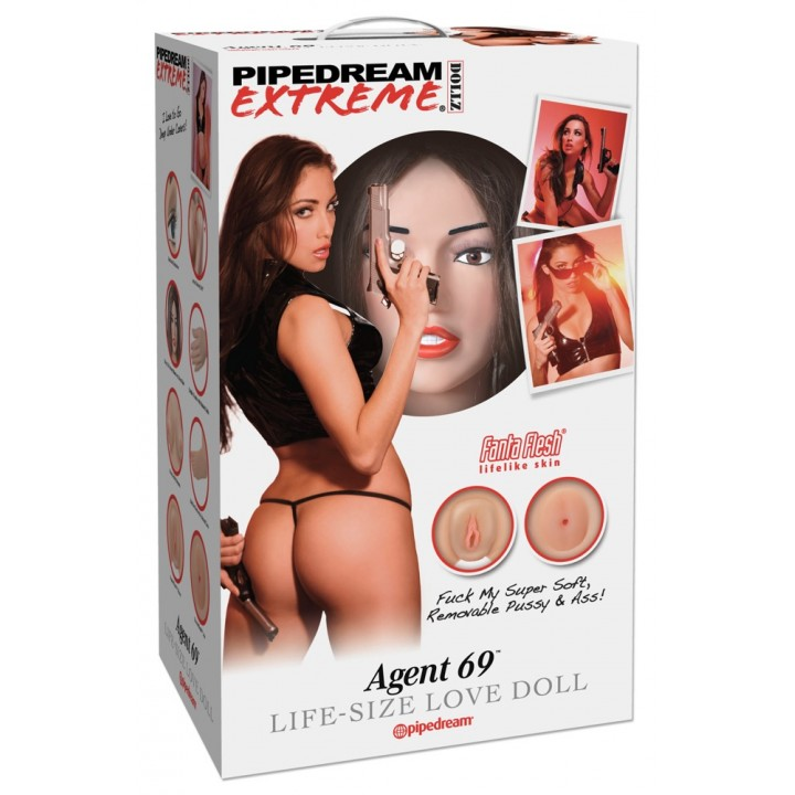 PED Agent 69 Life-Size Love Do - Pipedream Extreme Dollz
