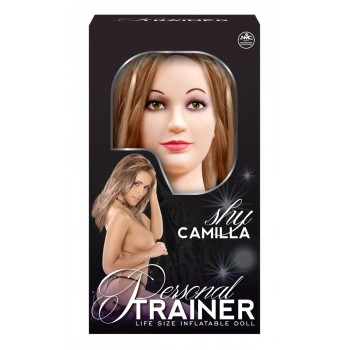 Mīlas Seksa lelle realistiskā Shy Camilla Lifesize LoveDoll