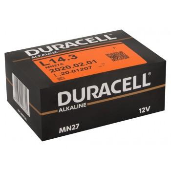 Battery Duracell 27A 10x1