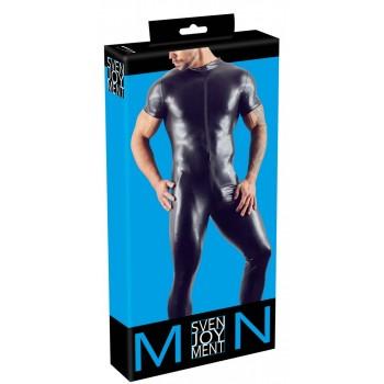 Vīriešu kostīmi un bodiji Kluba Seksīgie Erotiskie Men's Jumpsuit 2XL